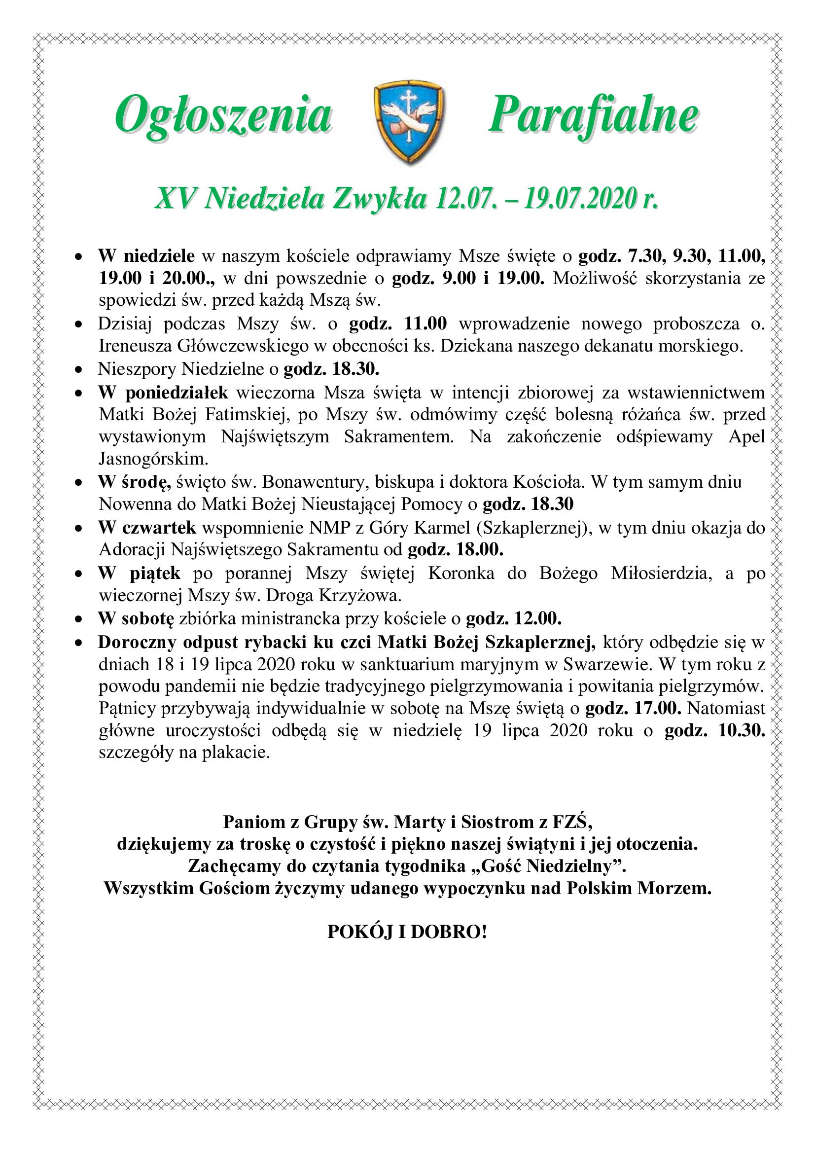xv-niedziela-zwykla-12-07-19-07-2020-r