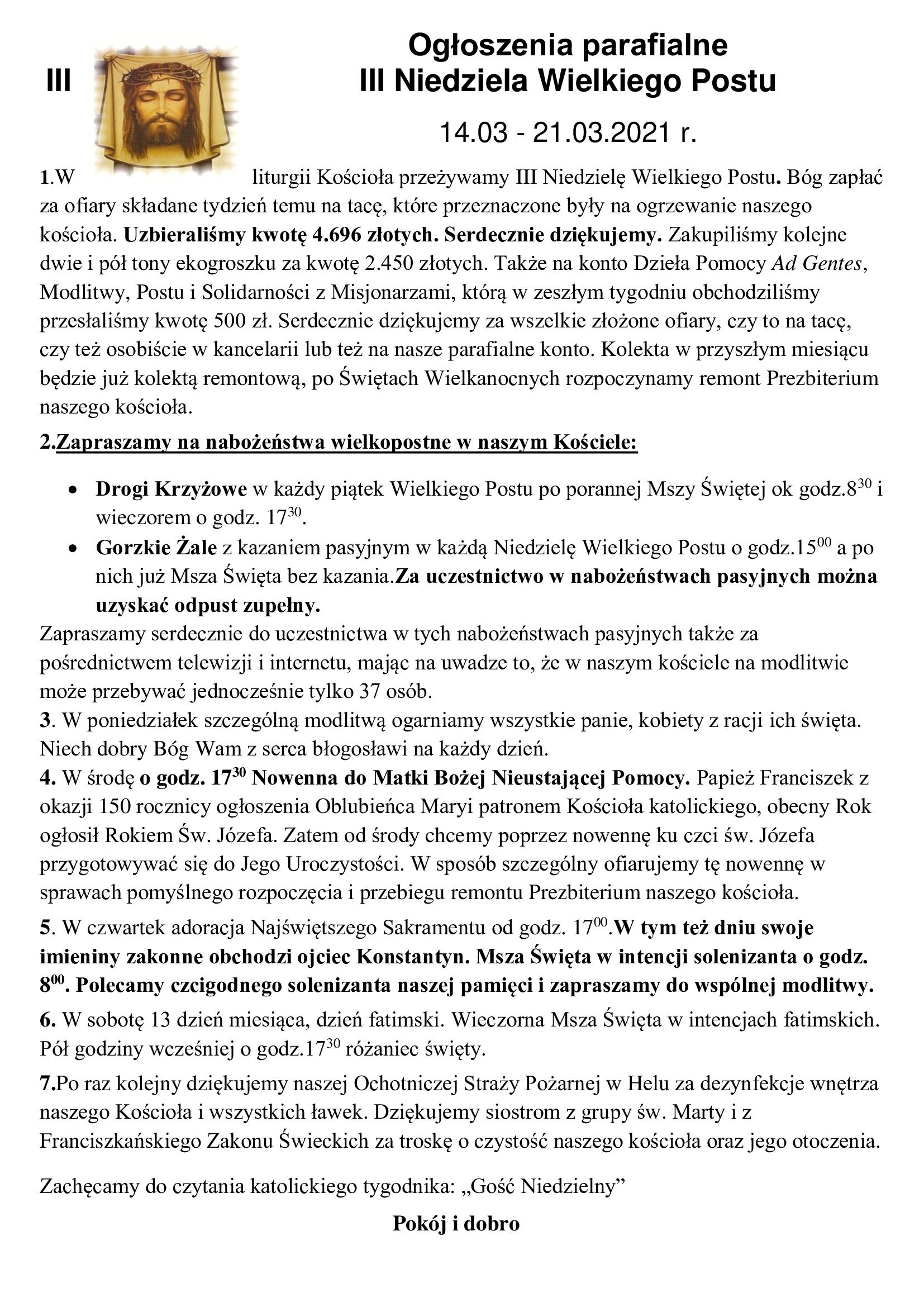 ogloszenia-parafialne-iii-niedziela-wielkiego-postu