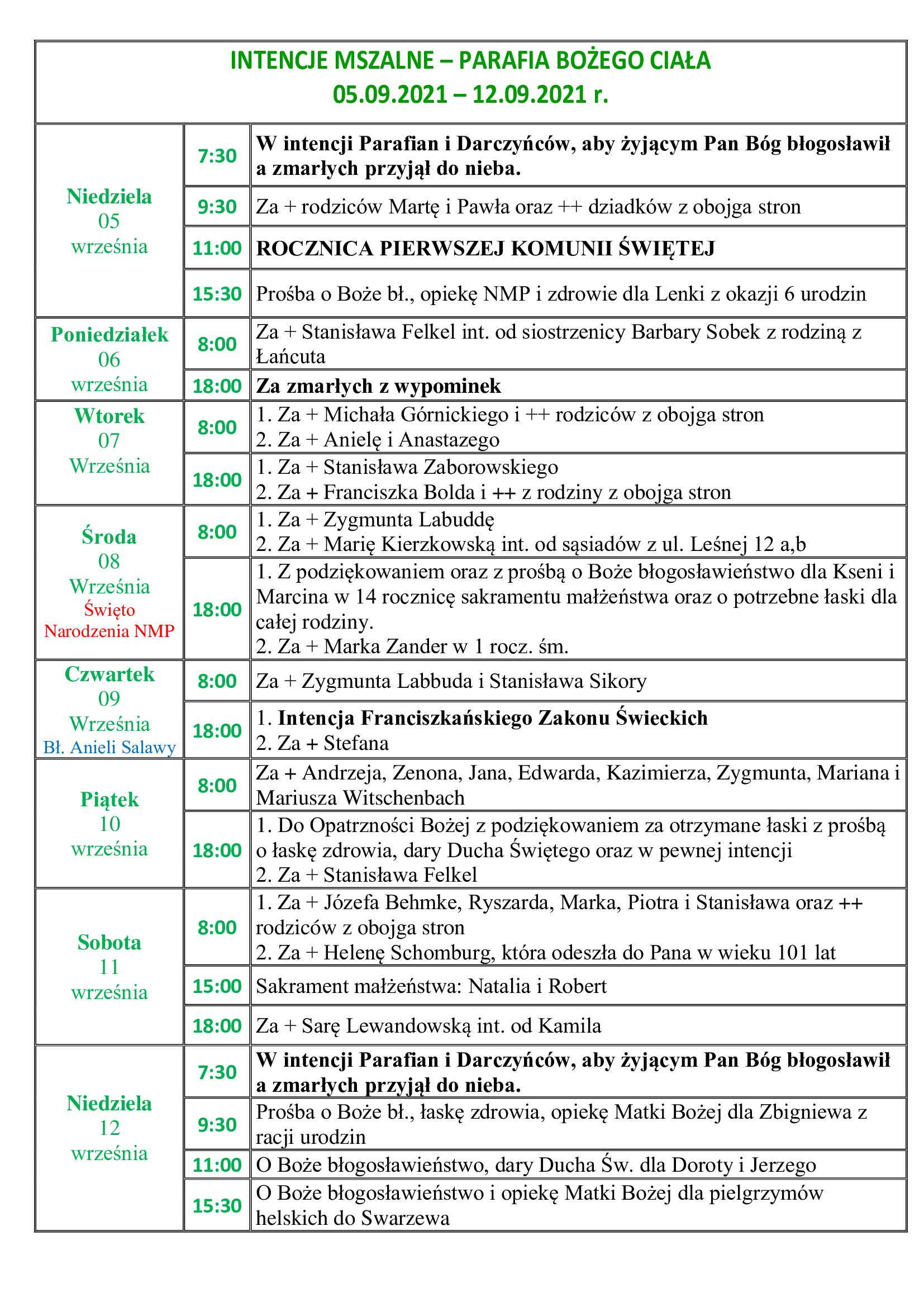 intencje-mszalne-23-niedziela-zwykla-05-09-2021-12-09-2021-r