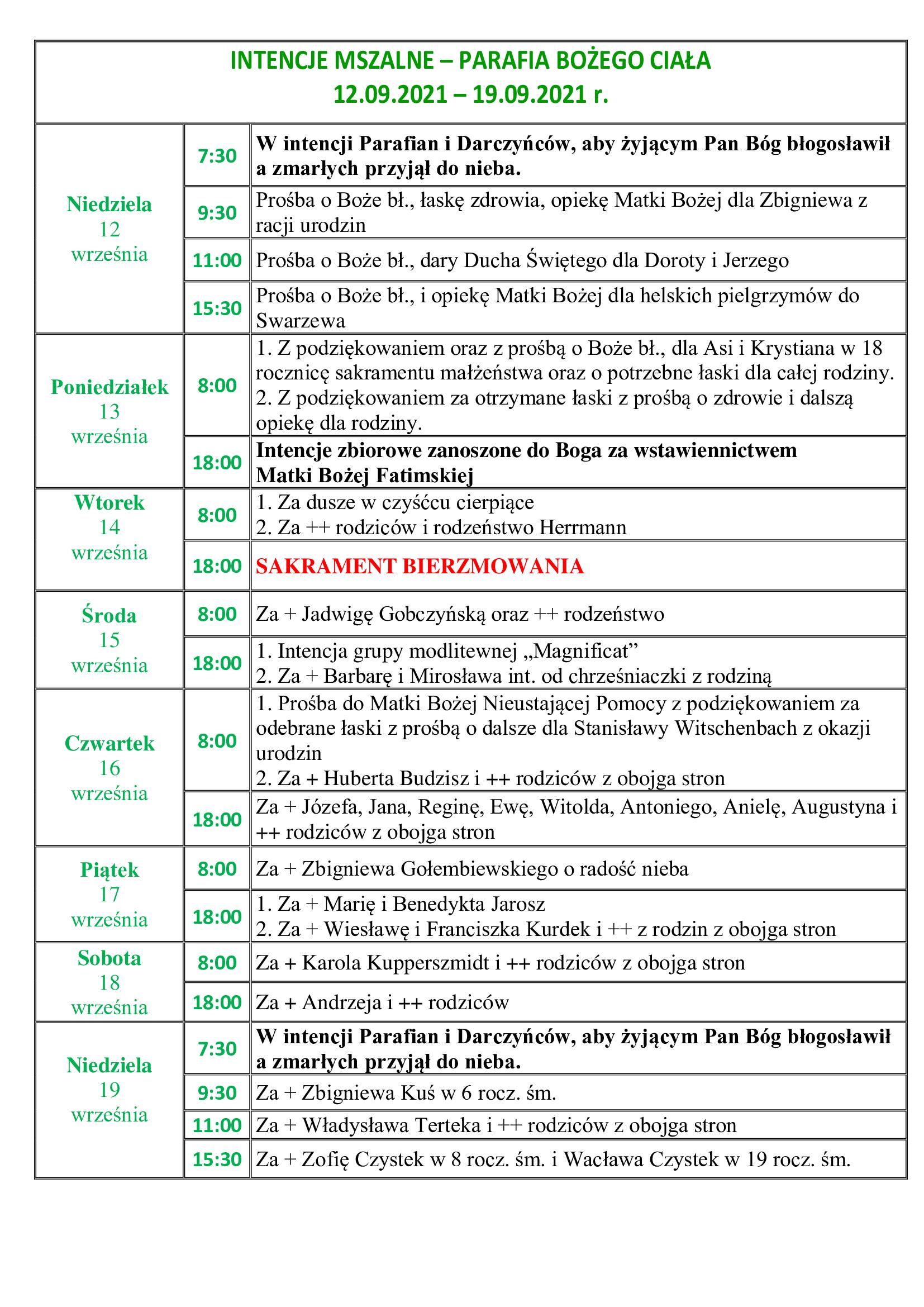 intencje-mszalne-24-niedziela-zwykla-12-09-2021-19-09-2021-r